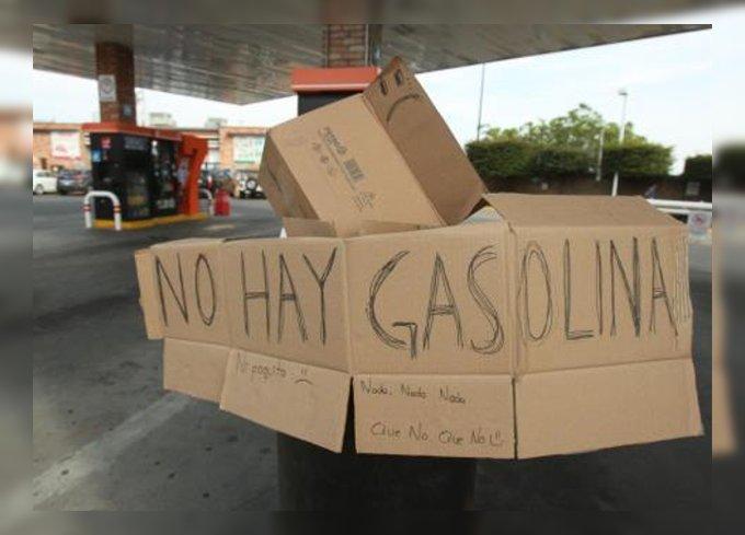 desabasto gasolina no hay