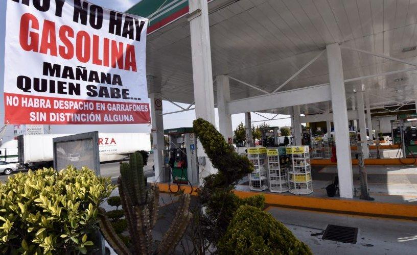 no hay gasolina desabasto