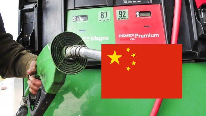 pemex gasolina china