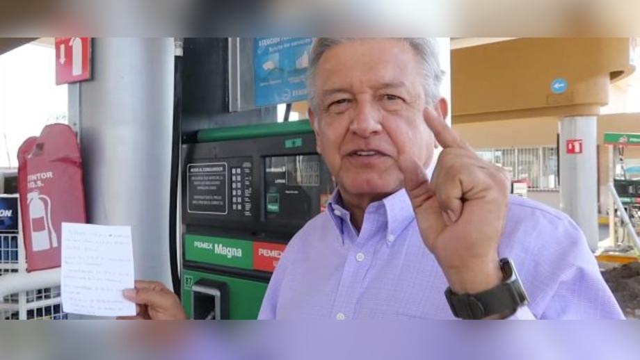 amlo precios gasolina luz pemex cfe bajar