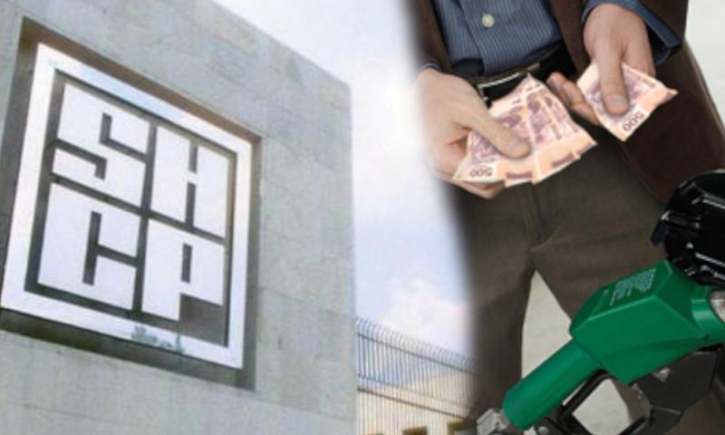 gasolina dinero shcp precios