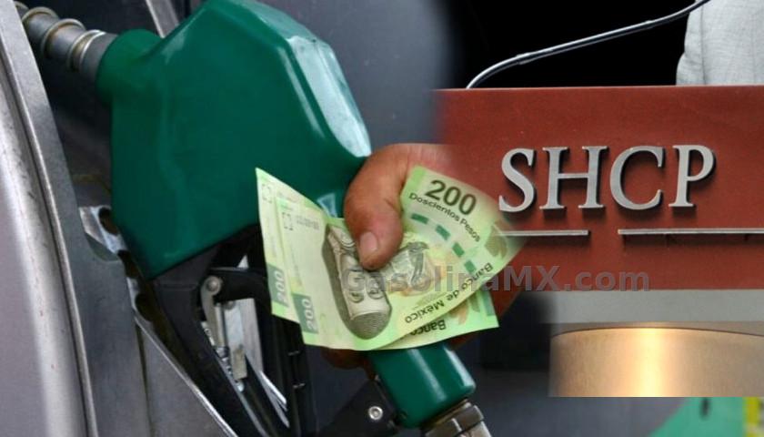 estimulos gasolinas mexico shcp ieps