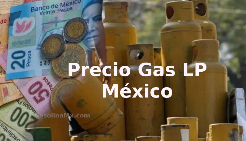 precio gas lp mexico
