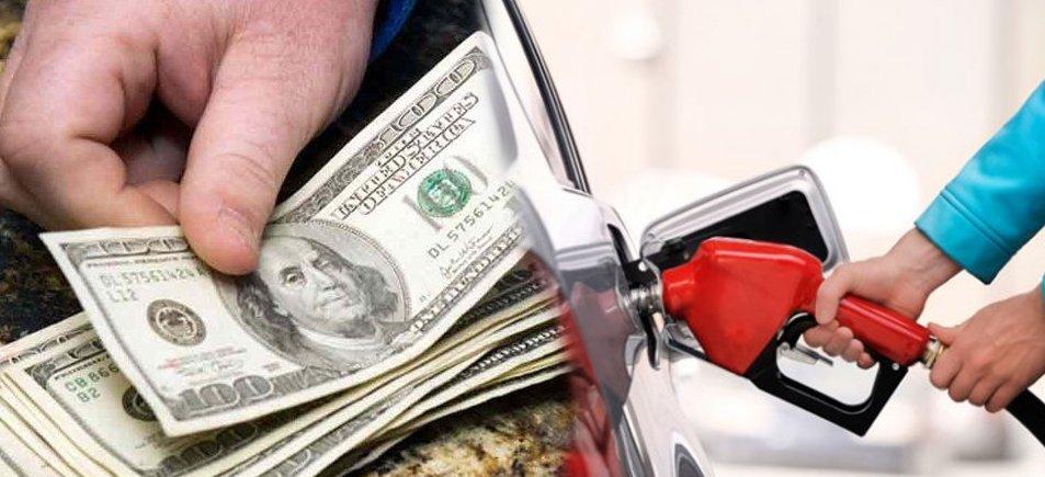 dolar gasolina precio