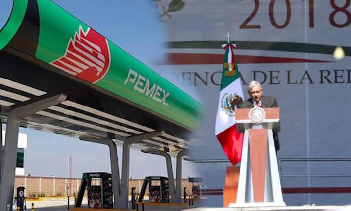 amlo pemex gasolina precio informe