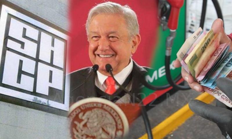 amlo gasolina precios shcp mexico subsidio ieps gasolinazo