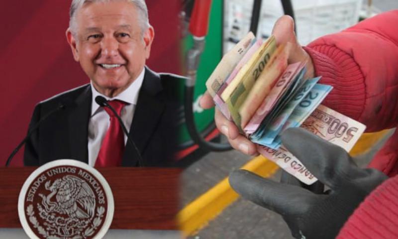 amlo gasolina precios dinero pemex